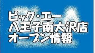 ビッグ・エー八王子南大沢店