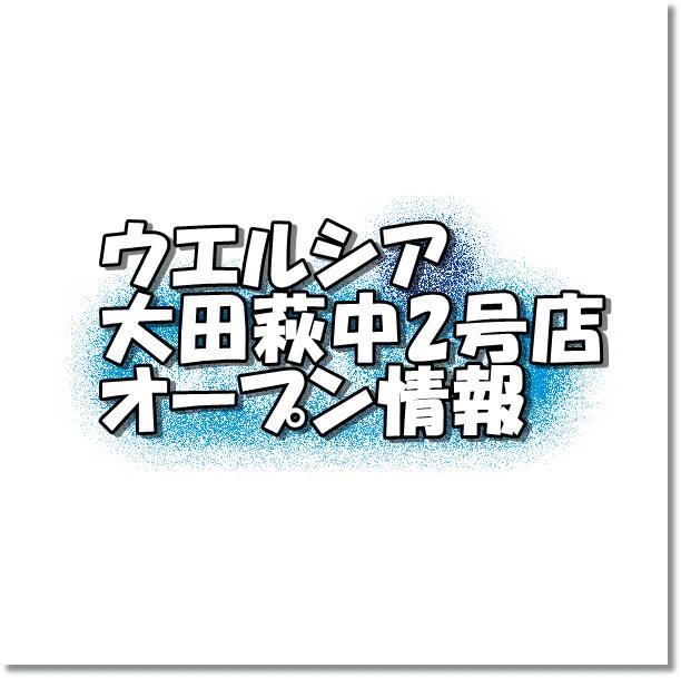 ウエルシア大田萩中2号店新規オープン情報